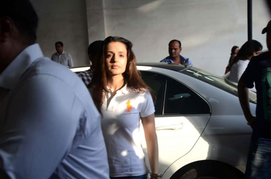 Actress Ameesha Patel arrives
