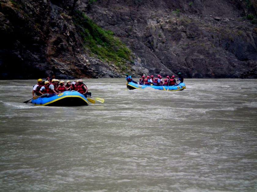 River Rafting, Himachal Pradesh