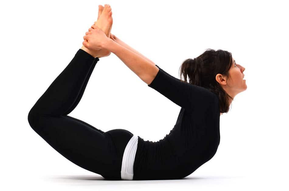 Bow Posture or Dhanurasana