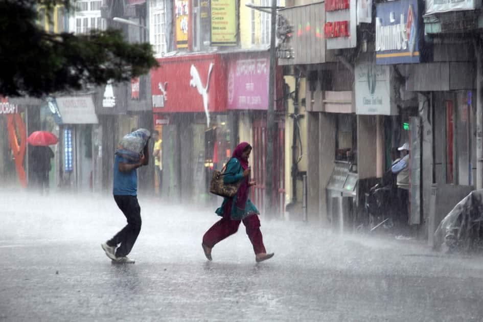 Rains lash Shimla