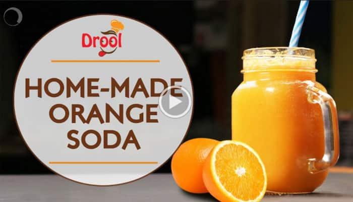 Summer drink recipe: Home-made Orange Soda