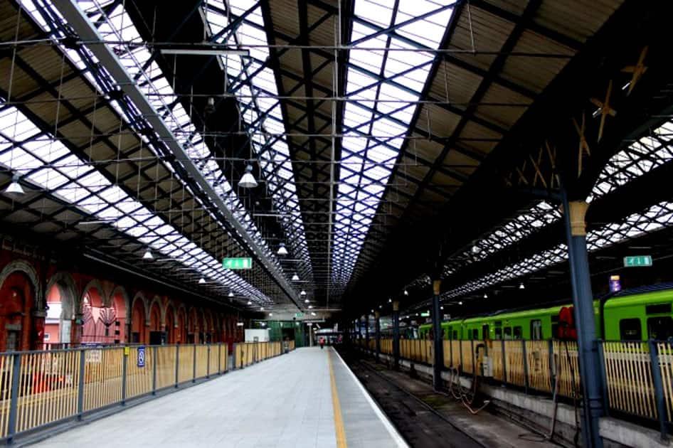 Connolly Station, Dublin, Ireland