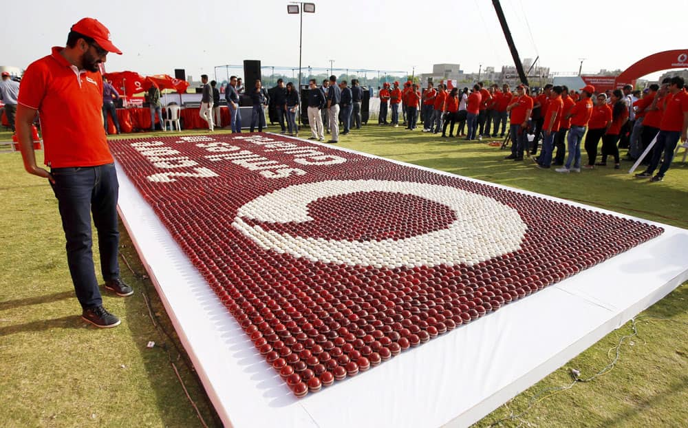 Vodafone event in Ahmedabad