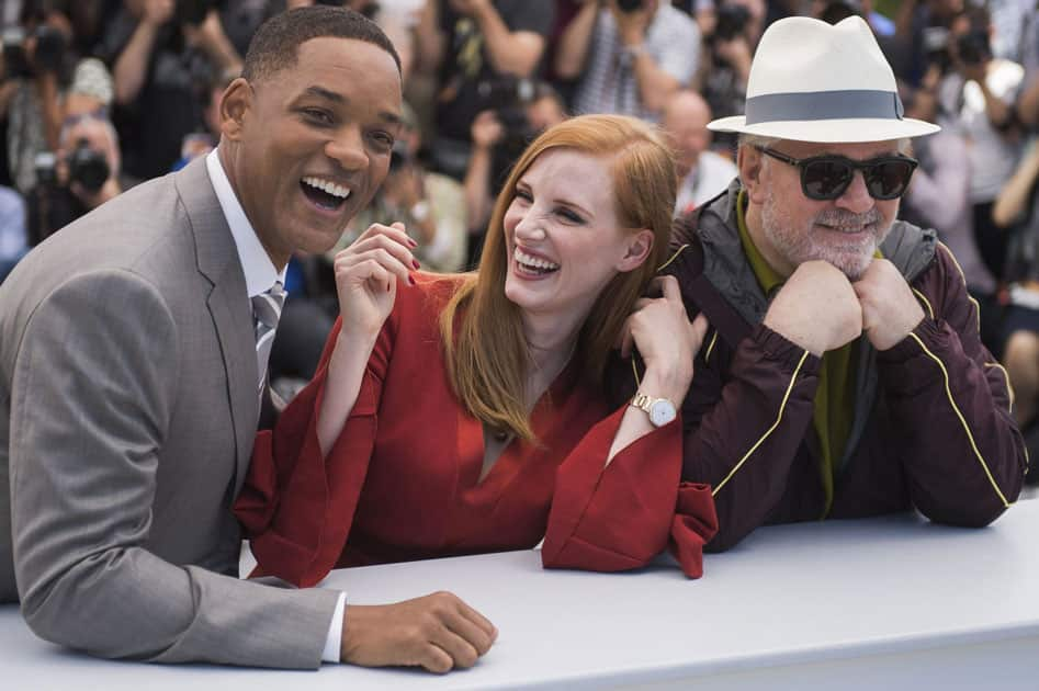 Jury members Will Smith, from Jessica Chastain and Pedro Almodovar pose for photographers