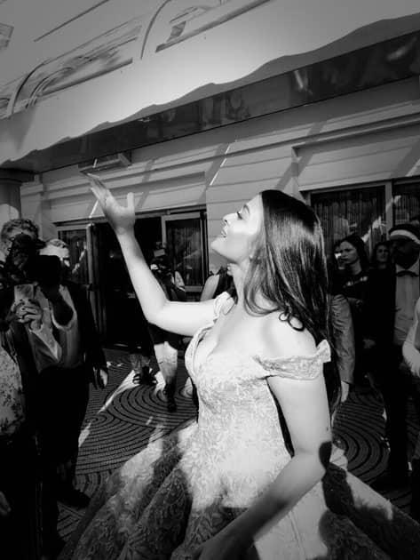 Heaven on Earth! #AishwaryaAtCannes #LifeAtCannes #CannesQueen