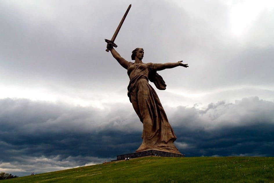 The Motherland Calls, Volgograd, Russia