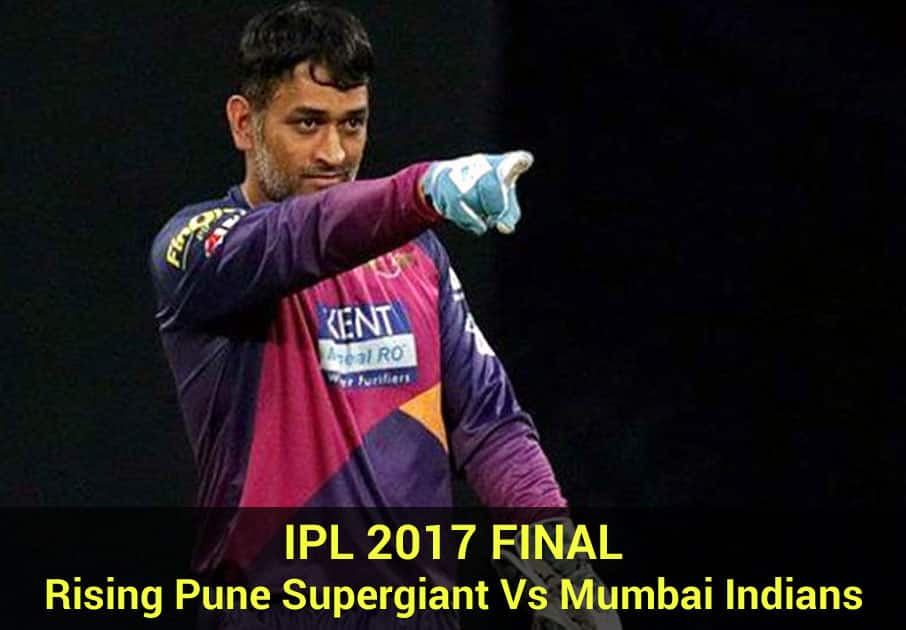 IPL 2017 FINAL : Rising Pune Supergiant Vs Mumbai Indians