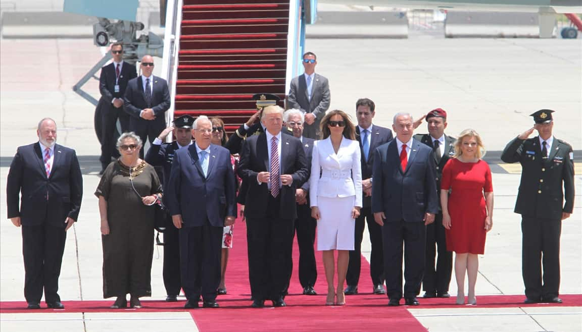 There is rare opportunity to bring peace, Trump says in Israel