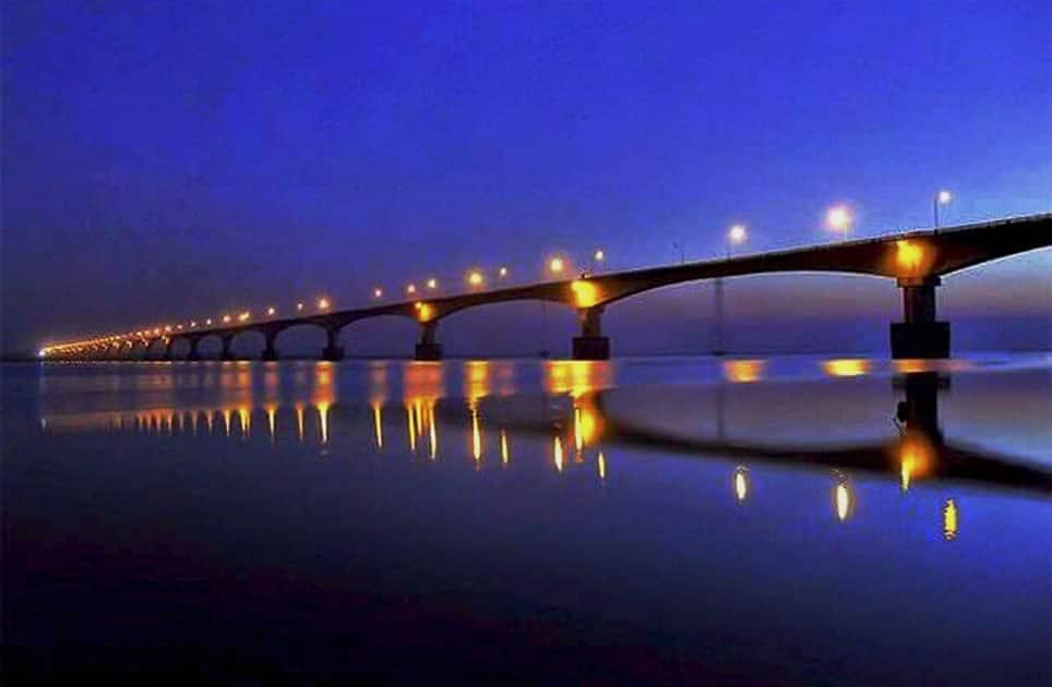 Dhola-Sadia bridge inaugurated by PM in Assam
