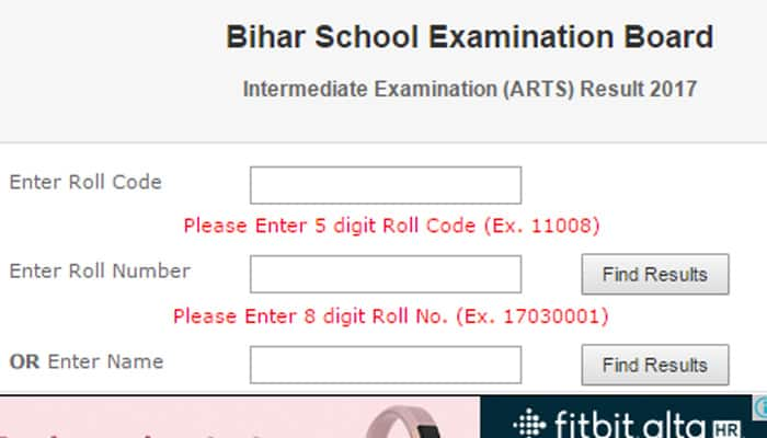 BSEB 12th result 2017: Bihar Board 12th result 2017 declared @ www.biharboard.ac.in; 70% science students, 76% arts students fail