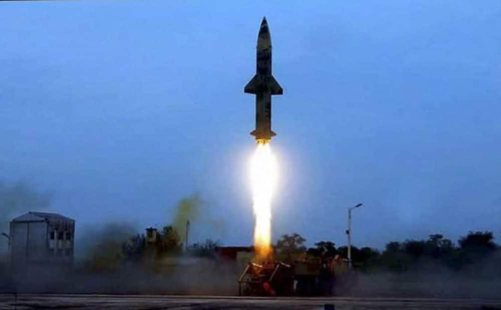 Prithvi-II missile successfully test-fired