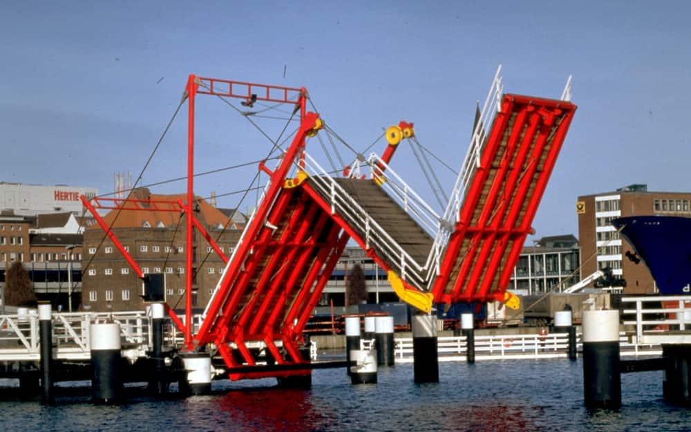 Hörn Bridge, Kiel, Germany
