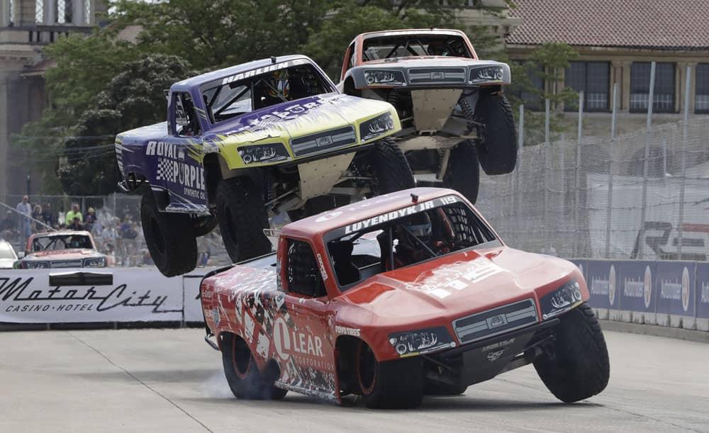 SPEED Energy Stadium Super Truck series race