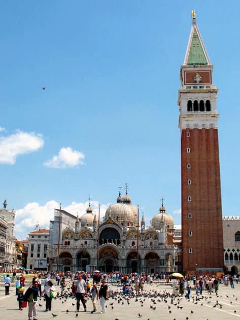 Saint Mark's Campanile, Saint Mark's Basilica, Venice, Italy