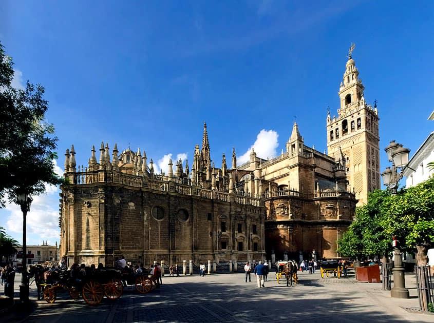 La Giralda, Seville Cathedral, Seville, Spain