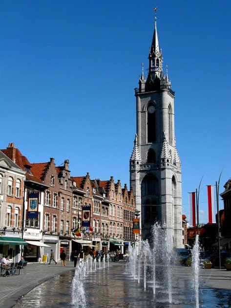 Belfry of Tournai, Tournai, Belgium