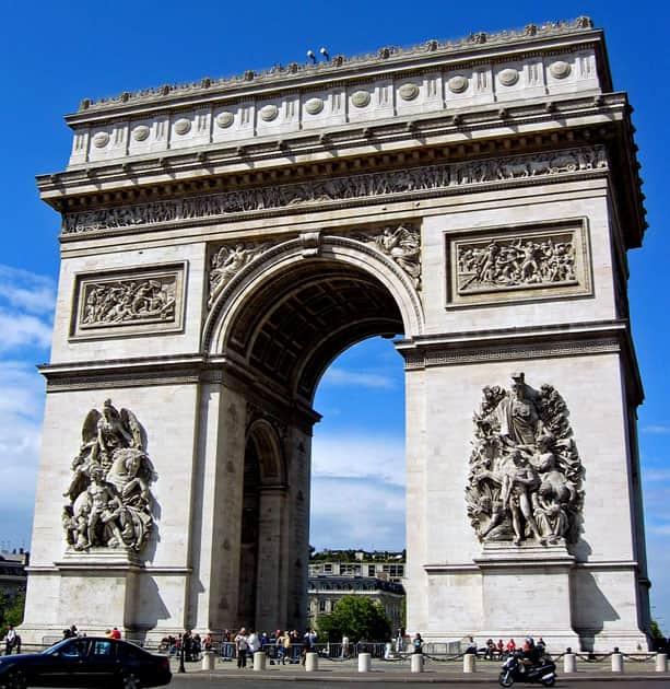 Arc de Triumph, Paris, France