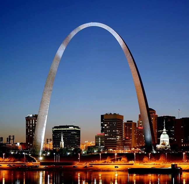 The Gateway Arch, St. Louis, United States