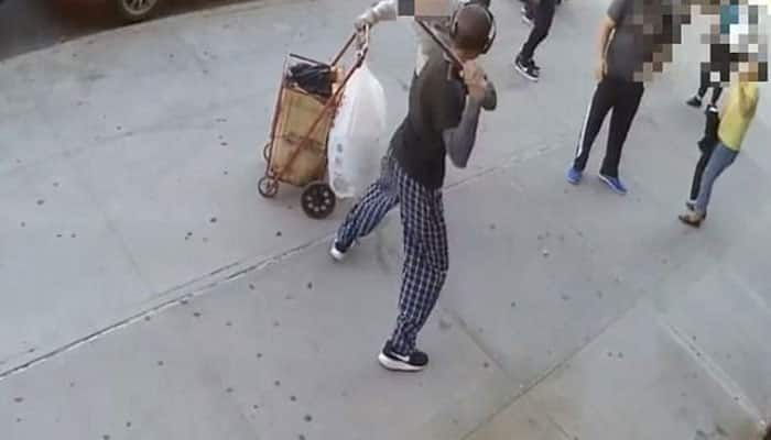 Manhattan shocker: 90-year-old man hit on head with cane in unprovoked attack