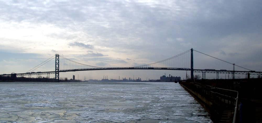 Ambassador Bridge – United States and Canada border