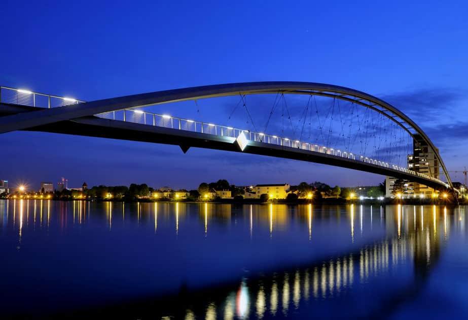 Three Countries Bridge – France and Germany border