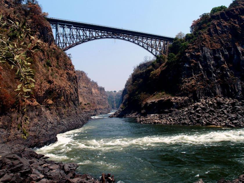 Victoria Falls Bridge – Zimbabwe and Zambia border
