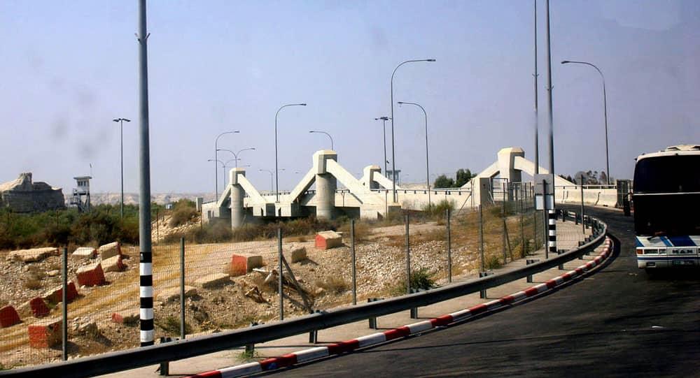Allenby Bridge (King Hussein Bridge) – Israel and Jordan border