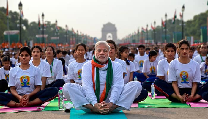 Fasting Muslims to take part in PM Narendra Modi's yoga day event in UP
