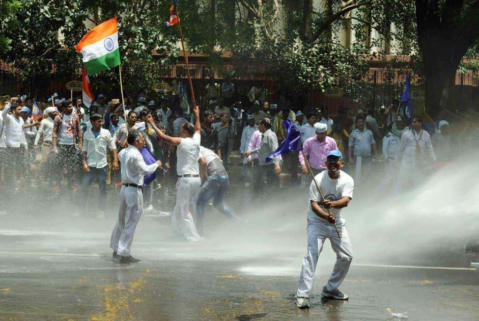 Protest at Jantar Mantar