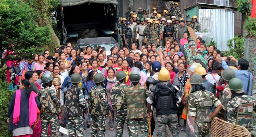 Unrest in Darjeeling