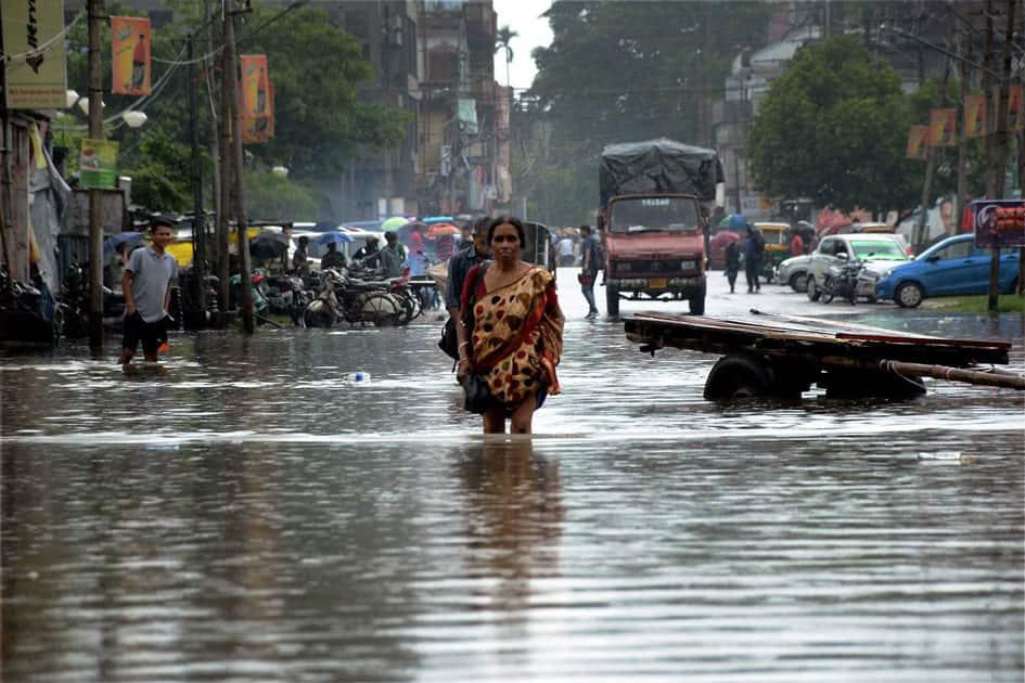 Heavy Rainfall in Agartala