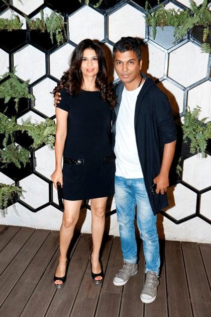 Rhea Pillai with Vikram Phadnis