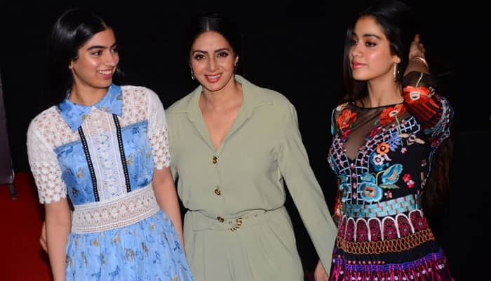 Jhanvi Kapoor in films: I wasn't in favour, says mommy Sridevi