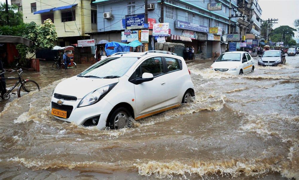 Floods in Guwahati