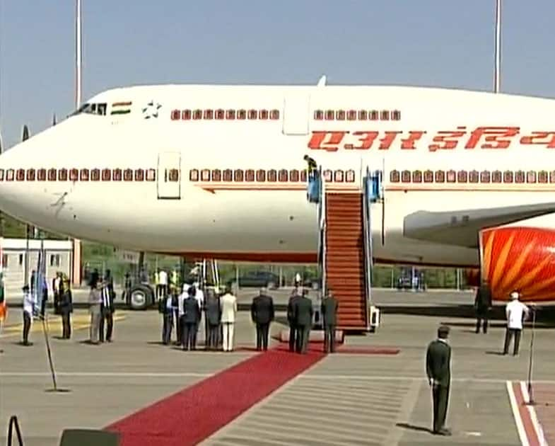 PM Modi arrives in Israel