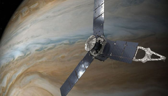 NASA's Juno craft all set for historic close encounter with Jupiter's Great Red Spot today
