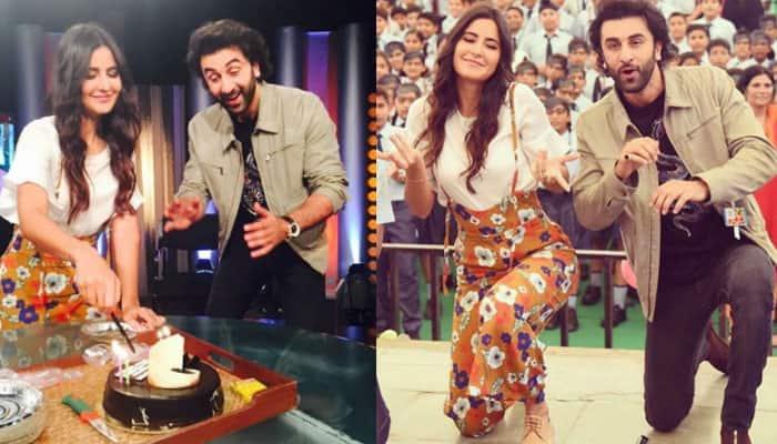 Ranbir Kapoor celebrates Katrina Kaif's birthday in advance and it's so cool! Watch video