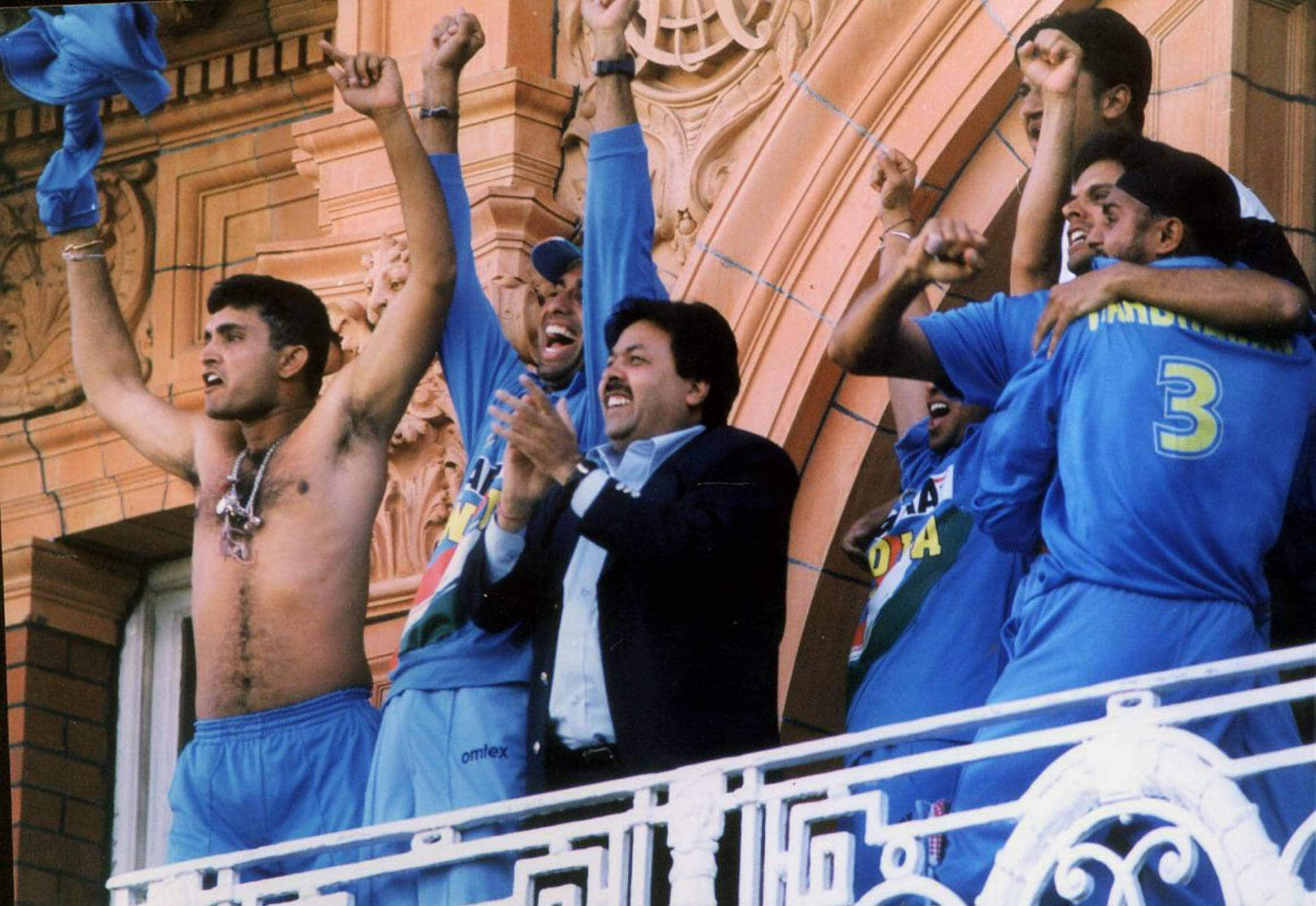 WATCH: On this day in 2002, India won NatWest series in a nail-biting final as Sourav Ganguly waived shirt in Lord's balcony