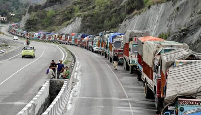 Jammu-Srinagar Highway reopens for traffic after 24-hr halt due to landslides, heavy rains
