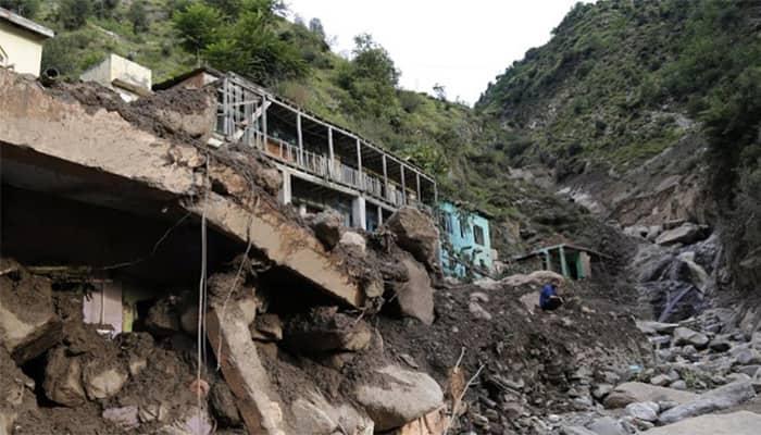 13 killed in cloudbursts, flash floods, landslide in J&K