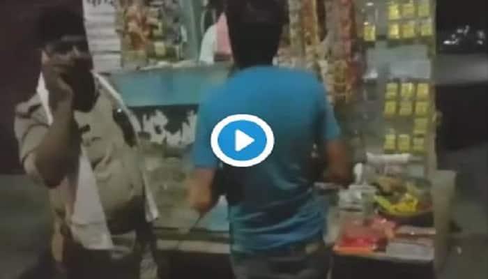 Uttar Pradesh: 'Drunk' cop asks prisoner to buy tobacco- Watch video