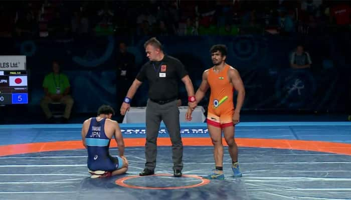 Veer Dev Gulia bags bronze medal on opening day of Junior World Wrestling championships