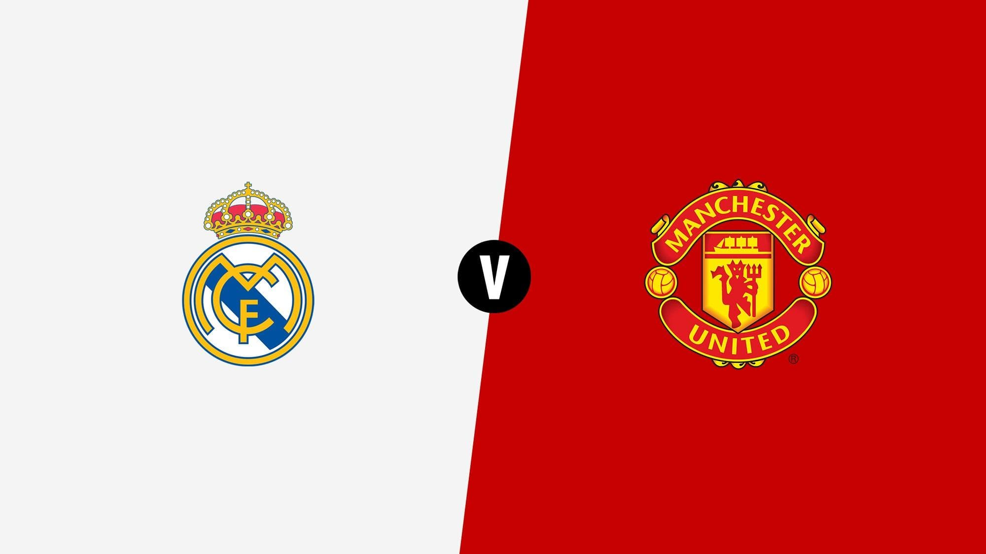 37b35b8f0 UEFA Super Cup  Real Madrid vs Manchester United – Squads