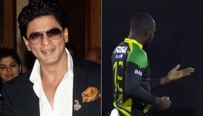 WATCH: Shah Rukh Khan-owned TKR's Kesrick Williams performs strange celebration in CPL​