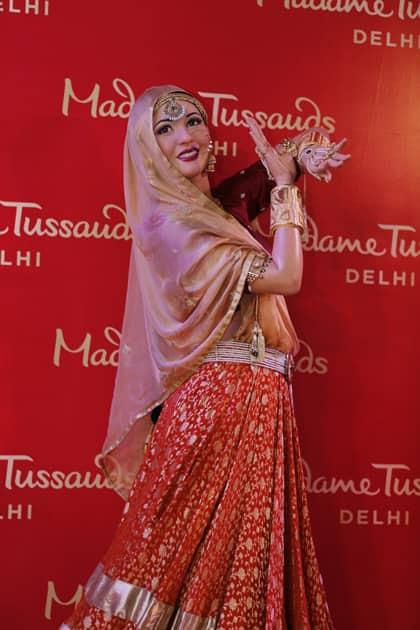 Timeless beauty of Madhubala at Tussauds