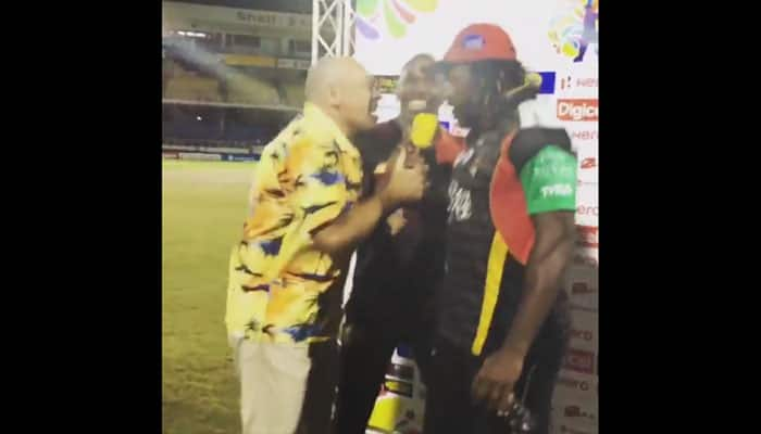 WATCH: Dwayne Bravo, Chris Gayle lit up post-match presentation with dance moves