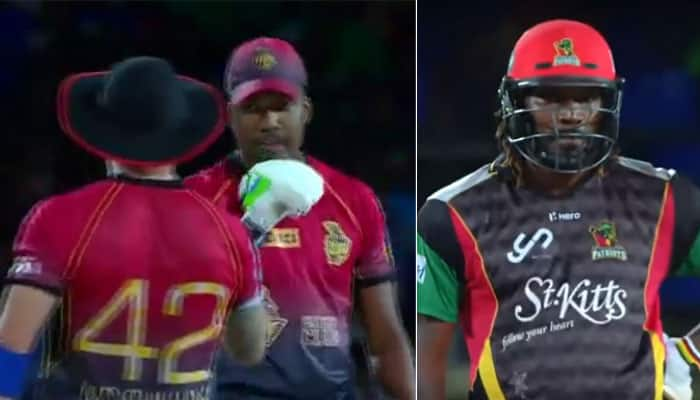 WATCH: Brendon McCullum, Darren Bravo make mockery of Chis Gayle's 47-ball 97