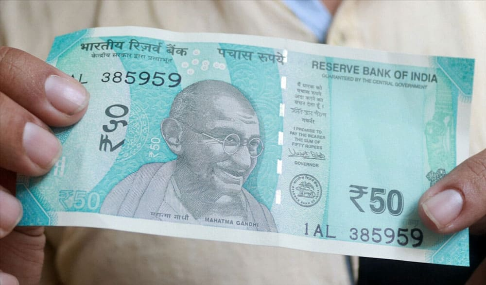New Currency Notes of Rs 50 denomination