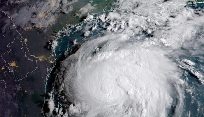 Disaster' looms as Hurricane Harvey bears down on Texas