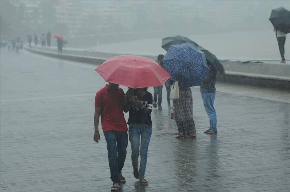 Rains lash